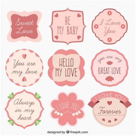 en imagenes de amor etiquetas las mejores imagenes de amor con frases dise 241 o etiquetas de amor descargar vectores gratis