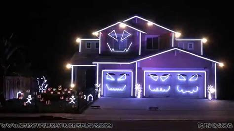 house lights to music halloween house with lights and music festival collections