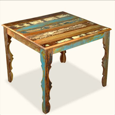 distressed dining bench distressed wood dining table decofurnish