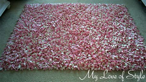 how to make a shaggy rag rug white soft fluffy fabric breeds picture