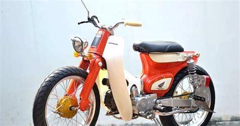 Lu Proji Untuk Motor Bebek modifikasi honda c70 barsaxx speed concept
