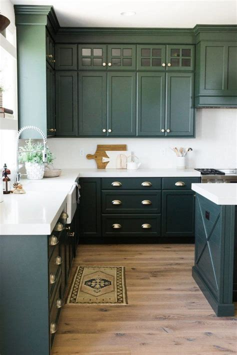 envy inducing green cabinets