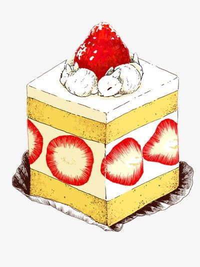 kek lukisan tangan hidangan makanan ilustrasi makanan