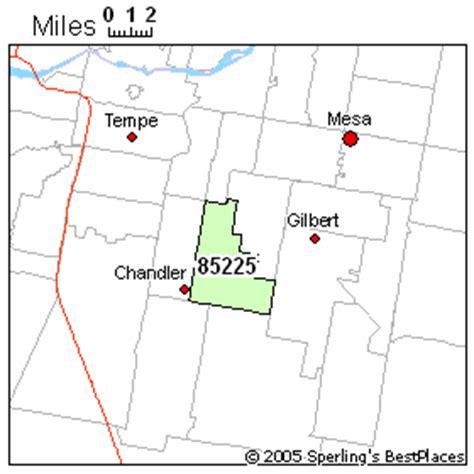 zip code map chandler az best place to live in chandler zip 85225 arizona