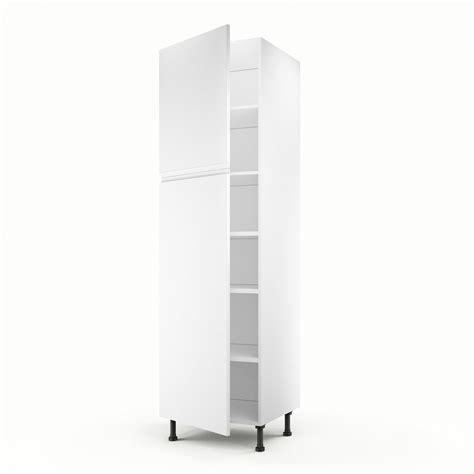 meuble colonne cuisine leroy merlin meuble de cuisine colonne blanc 2 portes graphic h 200 x l