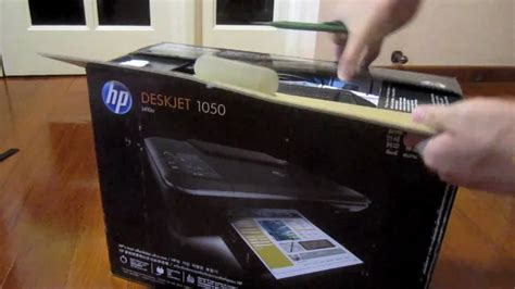 hp deskjet 1050 reset counter unboxed hp deskjet 1050 youtube