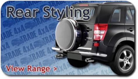 Suzuki Grand Vitara Accessories Catalog Suzuki Grand Vitara 2013 On A Bar Chrome Grill Stainless
