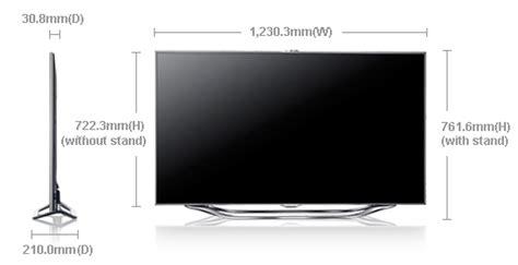 40 hertz led lights samsung ua 55es8000 55 quot smart multi system 3 d led tv with