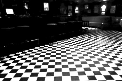 you had me at checkered floor back bay social club