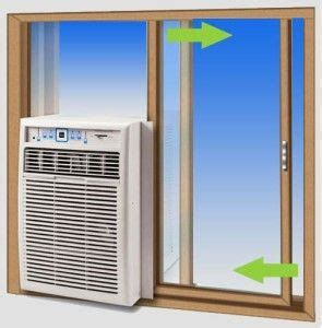Patio Door Air Conditioner Kit 1000 Ideas About Window Air Conditioner Installation On