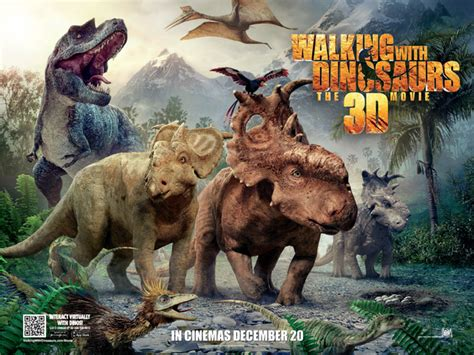 film with dinosaurus walking with dinosaurs the 3d movie origins preview