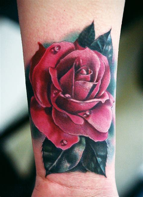 dark red rose tattoo the gallery for gt designs