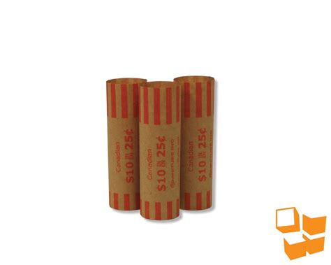 printable quarter coin wrappers minitube 25 crimped end coin wrappers supplies portal