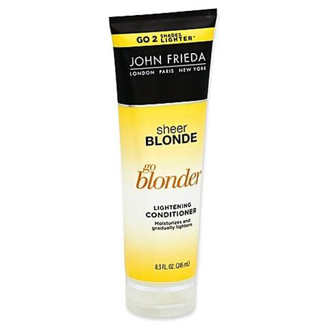 is john frieda morton in revitalizing in hand shoo good for grey hair john frieda sheer blonde 174 go blonder 8 3 fl oz