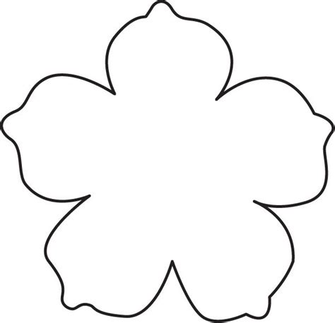 paper cut out templates flowers 25 best ideas about flower template on paper