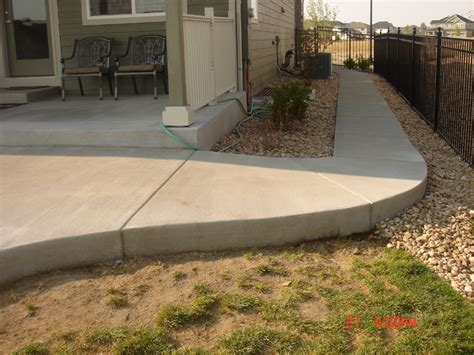 concrete patio denver concrete patios denver custom