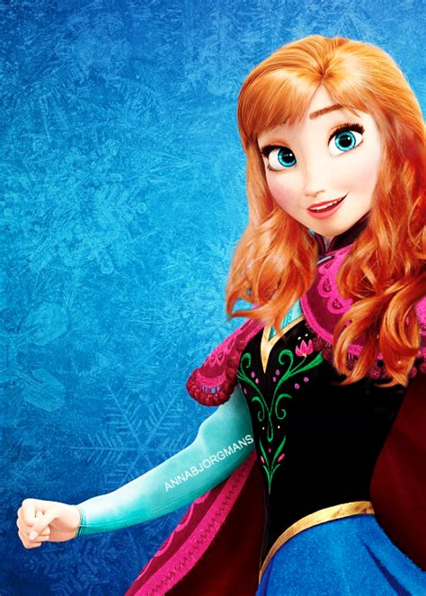 anna from frozen hairstyle anna new hairstyle disney princess fan art 36789594