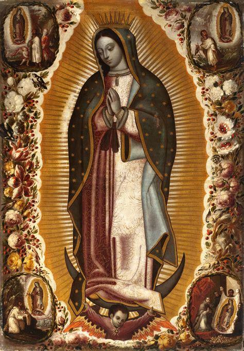 imagenes catolicas virgen de guadalupe lienzo en tela la virgen de guadalupe 1 x 1 5 m