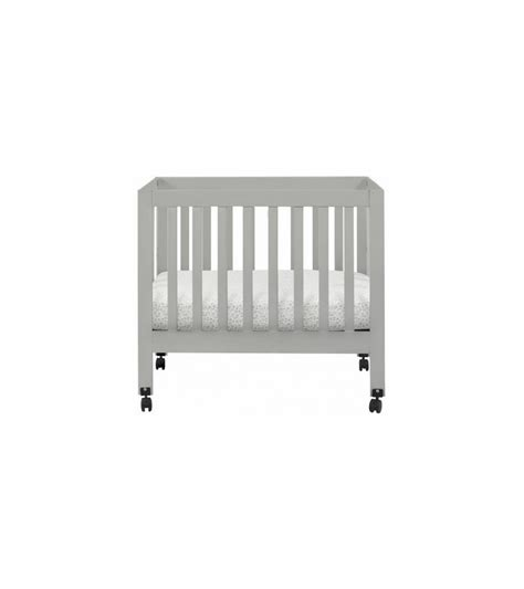 Babyletto Origami - babyletto origami mini crib in grey