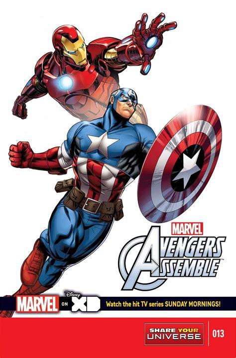 Mainan Heroes Assemle Captain America Iron marvel universe assemble 13 fresh comics