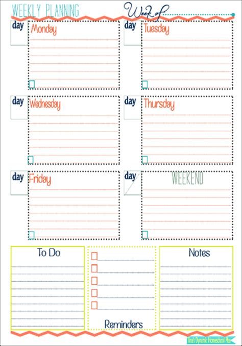printable weekly planner cards image gallery printable planner