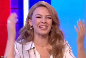 A Message From Minogue by Minogue Surprised With Message From Onscreen