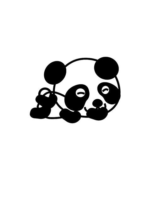 gambar lucu kartun panda lucu  ayo ketawa