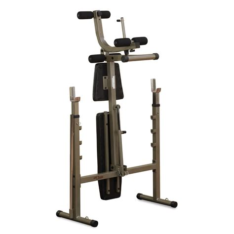 fold away weights bench best fitness bfob10 olympic bench review