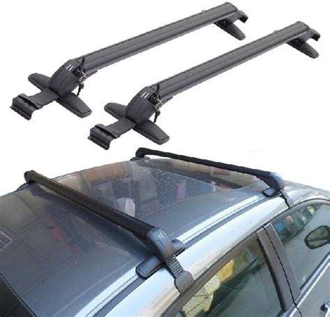 sportage roof rack for universal cars without existing side rails top luggage set cargo mount