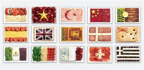 best international cuisine tasty national flags caign inspired by food for sydney