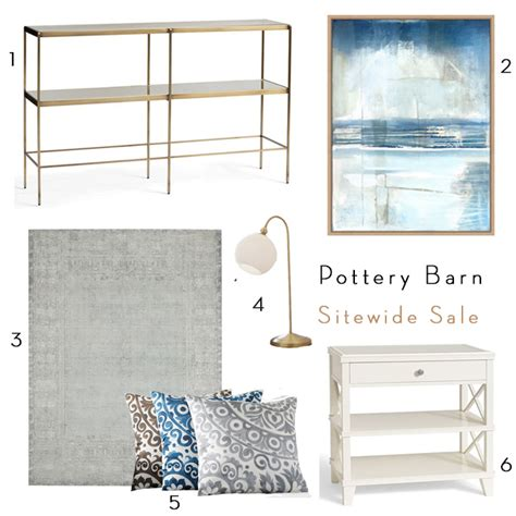 Pottery Barn L Sale by Pottery Barn Sitewide Sale