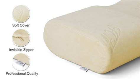 Memory Foam Pillow Smell by Contour Memory Foam Anti Snore Pillow Viscoelastic Foam