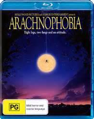 arachnophobia film blu ray unboxing arachnophobia blu ray remastered australia