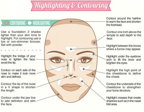 Go Basic Guide guide shows you how to contour highlight and pluck to perfection daily mail