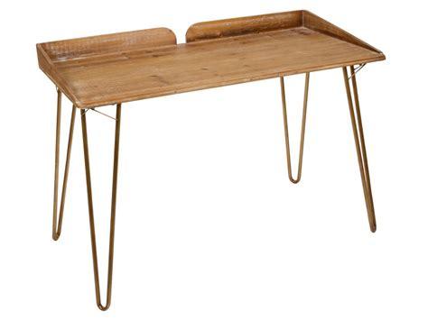 escritorios retro escritorio retro industrial de madera y hierro con efecto