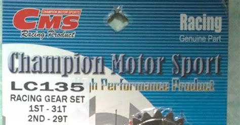 Gear Set Gearset Girset Jupiter Mx Yl palex motor parts gear racing cms 1 2 4 yamaha lc135 spark135 jupiter mx sniper 135