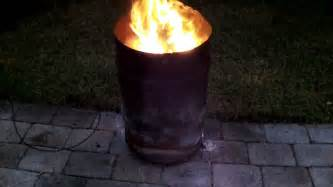 Washer Fire Pit by 30 Gallon Fire Barrel Pit Better Than Chiminea Youtube