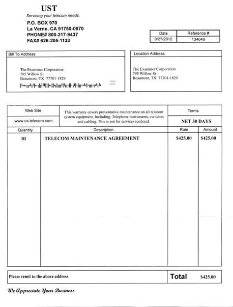 pre invoice template pre invoice template