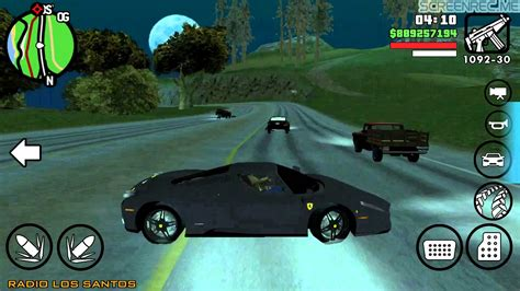 mods for android gta san andreas android car mods