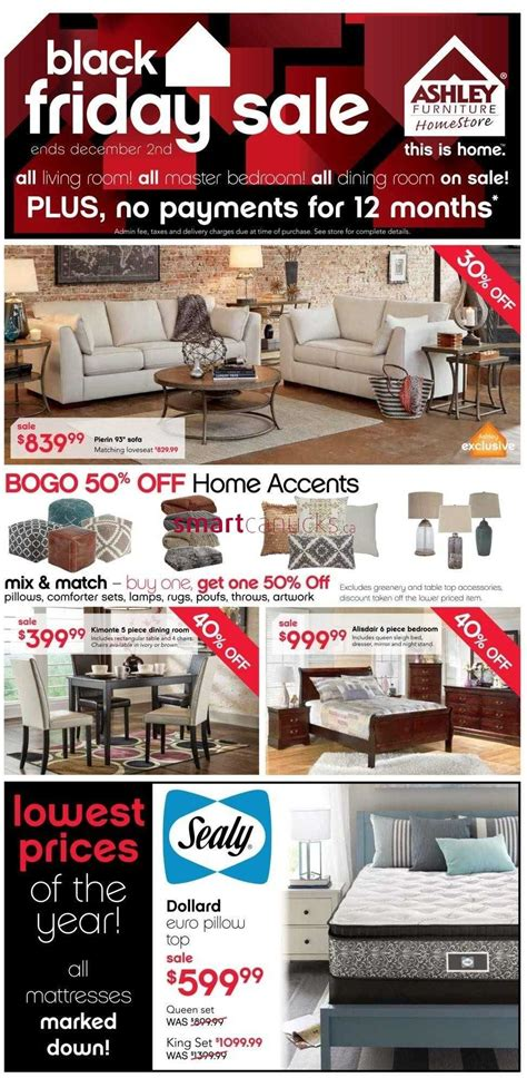 Furniture Stores Black Friday by Furniture Home Store On Black Friday Flyer