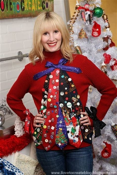 11 tacky hilarious festive homemade ugly christmas sweaters