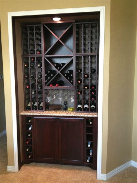 Built In Cabinet Wine Rack by 17 Best Images About Wine Rack Ideas On Wine