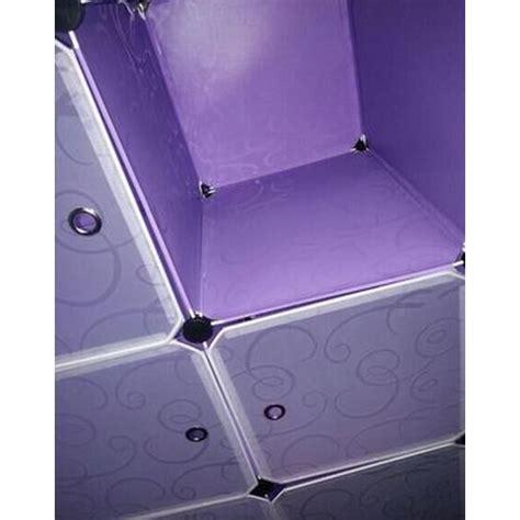 Lemari Pakaian Plastik 4 Pintu lemari baju plastik diy 6 pintu purple jakartanotebook