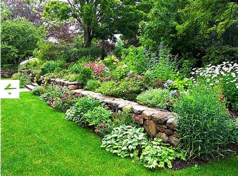 Walled Garden Nursery Rock Wall Garden Plants Www Pixshark Images