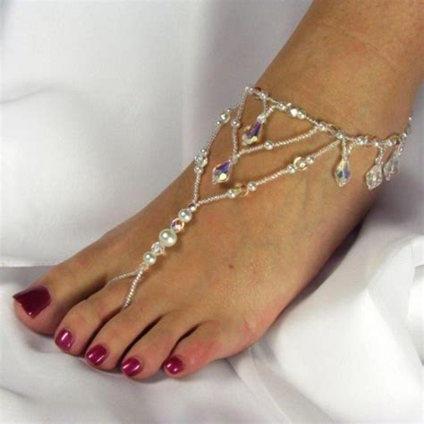 beaded foot jewelry 13 best images on beaded foot jewelry