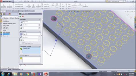 solidworks tutorial linear pattern 25 best ideas about solidworks tutorial on pinterest 3d