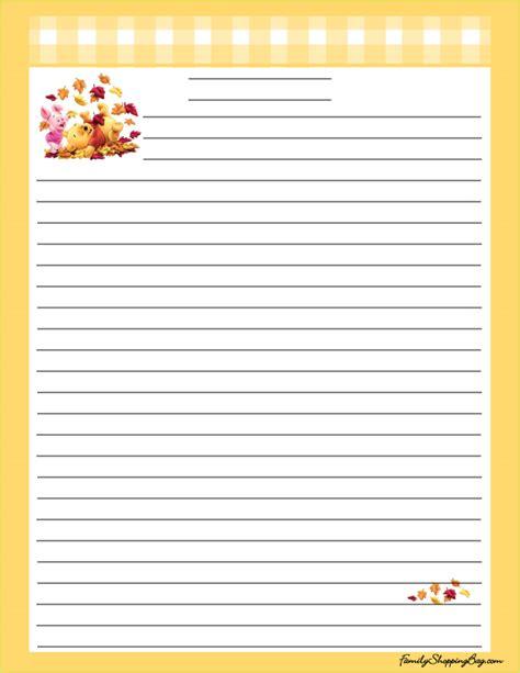 printable turkey stationery stationery thanksgiving pooh 058600 jpg