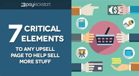 To Sell More Stuff by 7 Critical Elements To Any Upsell Page To Help Sell More Stuff