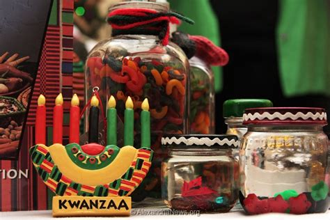 Kwanzaa Decorations by Alexandria Celebrates Winter Holidays 187 Alexandrianews