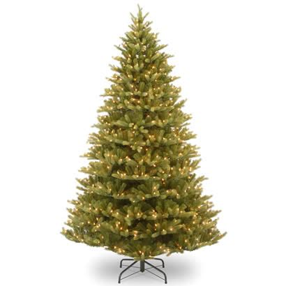 7 5 ft tree with 1000 lights 7 5 ft feel normandy fir tree with 1000